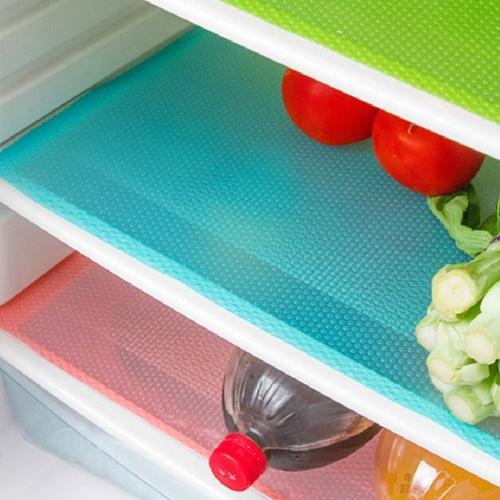 Refrigerator Pad Antibacterial Antifouling Mildew Moisture Absorption Pad Refrigerator Mats Fridge