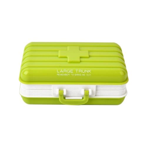8840e53a048 Viajes 6 compartimentos caja de la píldora de la tableta Medicina  organizador del sostenedor del dispensador
