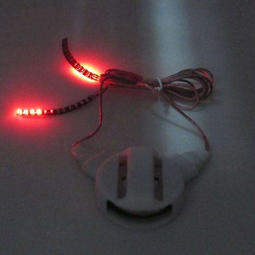 Rote LED Wimpern Wasserdicht Interaktive Unisex Licht Leuchtende Glänzende Wimpern für Nachtclub Geburtstagsfeier Rave Party 1Pair Falsche Augen Peitsche Makeup