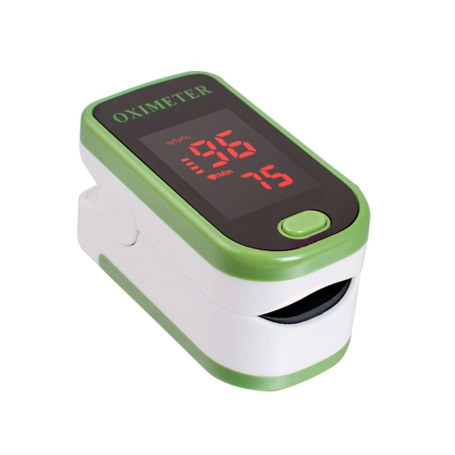 Istant Read Fingerspitze Pulsfrequenz Oximeter Portable Blut Sauerstoff Sättigung SpO2 Monitor LED Display