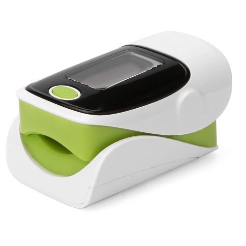 Портативный SpO2 Fingertip Pulse Instant Read Цифровой оксиметр Кислородный датчик Насыщенность Монитор монитора OLED-дисплей Автоматическое выключение питания