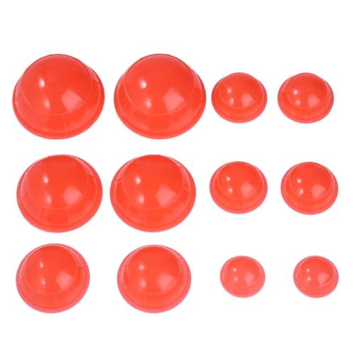 12pcs 5 размер мини-силиконовый кубок массажа вакуумный кубок чашки влаги абсорберы здравоохранения