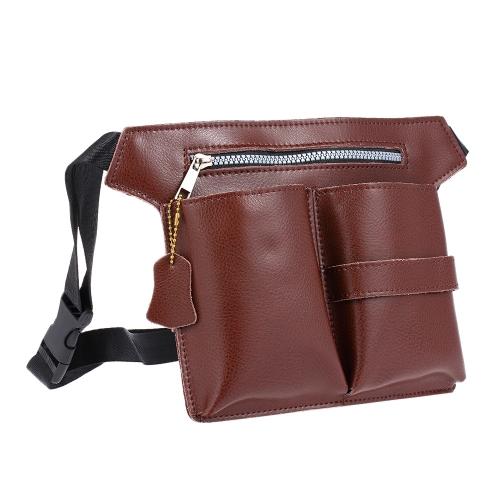 PU кожаный нож для волос ножница парикмахерская парик для стрижки инструментов сумка для волос стилист талия плечевого пояса