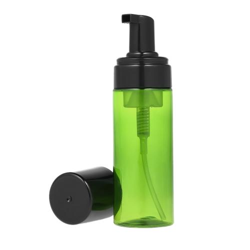 150ml / 5.29oz Диспенсер для бутылочной бутылки с пенопластом Мини-пластиковый диспенсер для мыла для лица Кремовый шампунь Инструмент для ухода за красотой Travel Home Use
