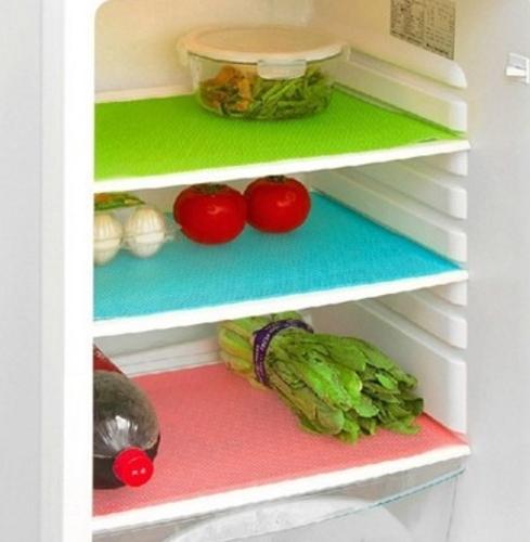 Холодильник Плита Антибактериальная Противообрастающая мучнистая роса Влагопоглощающая подушка Холодильник Коврики Холодильник