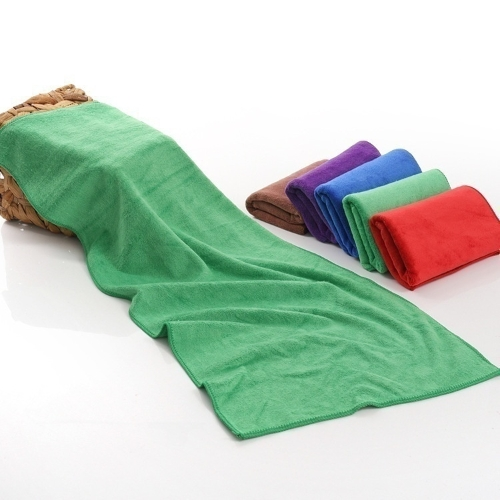 New Soft Warm Solid Warm Micro Plush Fleece Blanket Throw Rug Sofa Bedding Brown 50cm * 70cm