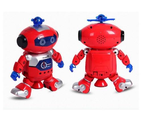 子供のための素敵な贈り物電子ウォーキングダンススマートスペースロボット宇宙飛行士キッズ音楽ライトトイSNTRE