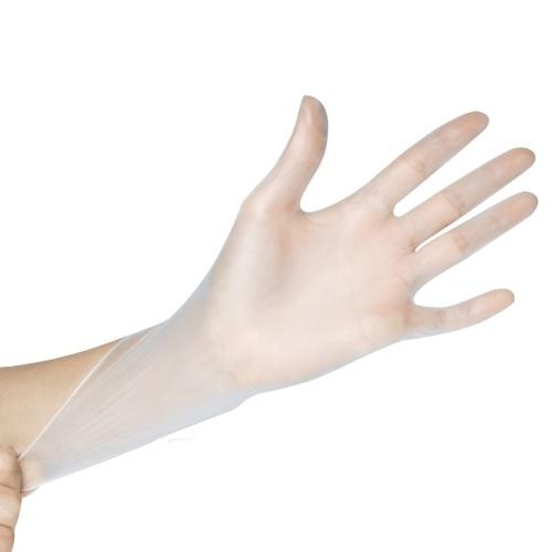 100Pcs Disposable PVC Gloves Food-grade Transparent Protective Gloves Kitchen Baking Sloves