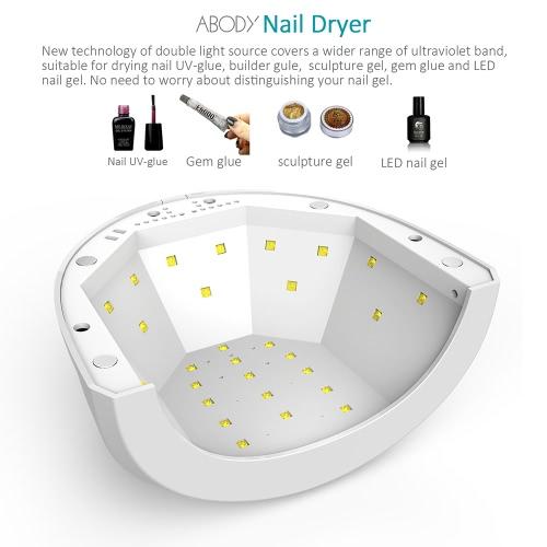 Abody Sunone 48w 24w Nail Dryer Led Uv Lamp Gel Nail