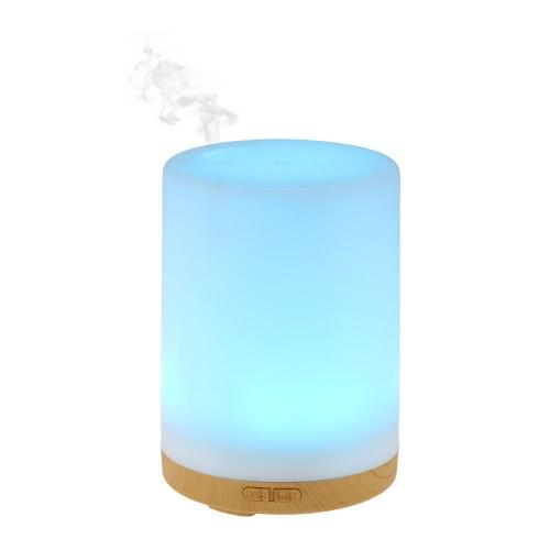 Aself 200 мл Cool Mist Увлажнитель 7 цветов Светодиодный свет для домашнего офиса Спальня SPA Йога.