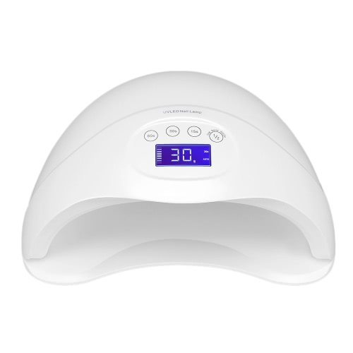 36W UV LED Nail Dryer Lâmpada de prego Auto Sensor Cura UV LED Gel de unha polonês 15s / 30s / 60s Temporizador 2 Modos LCD Display US Plug