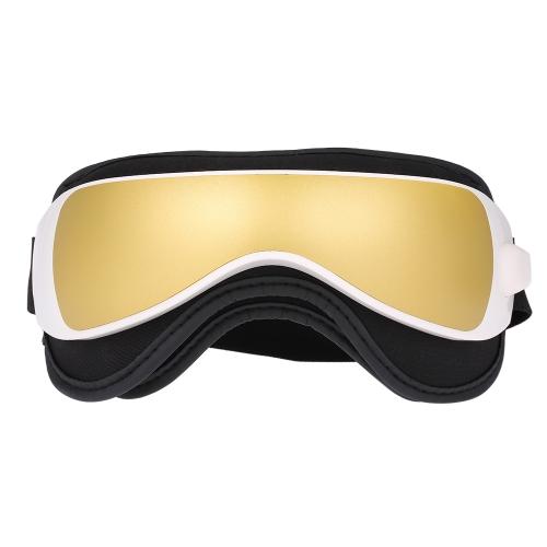 1pc Eye Massager Вибрация Воздушное давление Инфракрасный нагреватель Массаж Очки Музыка устройства Портативная релаксационная терапия