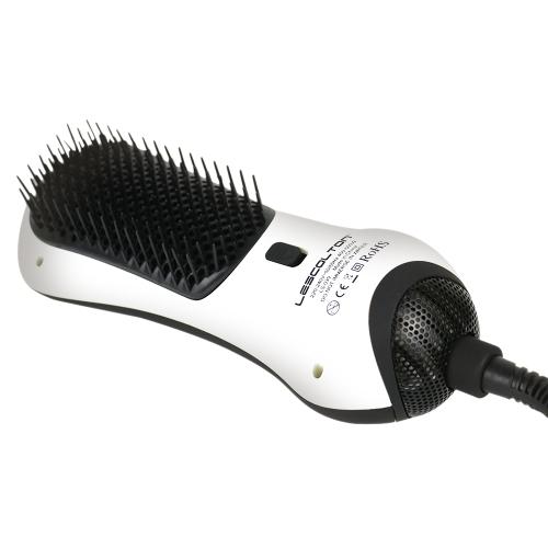 Инфракрасный Anion Прямая расческа для волос Портативная расческа для горячего воздуха Combbo Многофункциональная мини-сушилка для волос