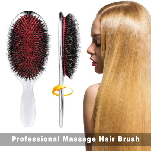 Professional Hair Brush Massage Comb Oval Anti-static Paddle Hair Extension Brush Healthy Scalp Massage Brush