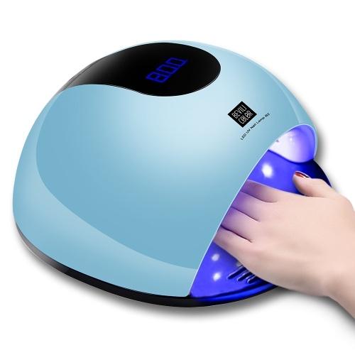 Lámpara UV LED de 80W, secador de uñas