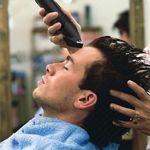 Abody Cordless Hair Trimmer Electric Hair Clipper Hair Shaver Ceramic Titanium Blade for Adults & Babies EU Plug