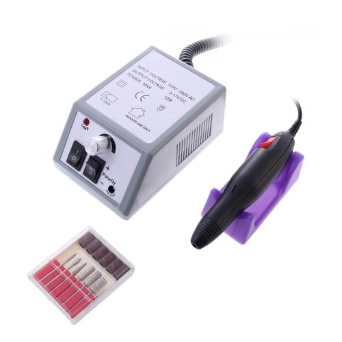 NEW Профессиональный электрический акриловый набор для сверления ногтей
