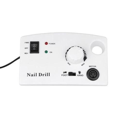 Elektrische Nagelbohrmaschine Diamant Nagelfeile Bohrmaschine Maniküre Poliermaschine Pediküre Master Nagelschleifer Bits Kit