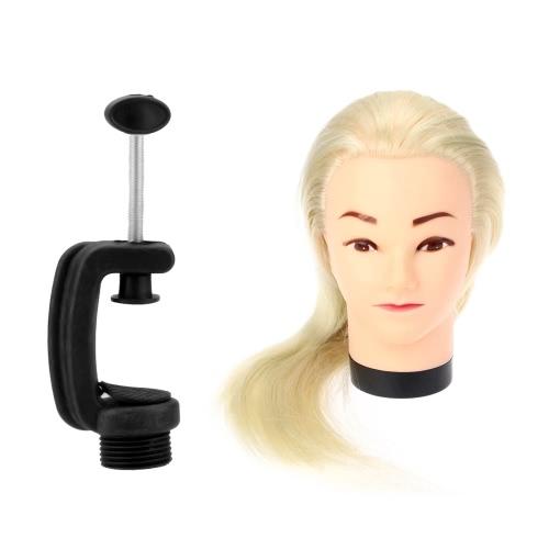 23 «косметология Манекен головы парикмахер укладка практике глава модель обучения с зажимом