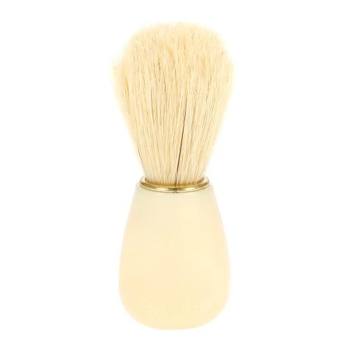 Männlich Borste Rasierpinsel Männer Bart Reinigungsbürste Gesichtsreinigung Werkzeug-ABS Griff