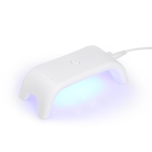 12W LED prego Máquina de Secar Mini prego lâmpada Unha Unha Gel cura Lamp prego Professional Equipment Gel para Nail Salon Branco
