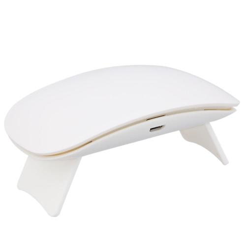 UV портативный 9W светодиодный гвоздь лампы мини-гвоздь гель сушилка USB-кабель гвоздь клей осушитель белый