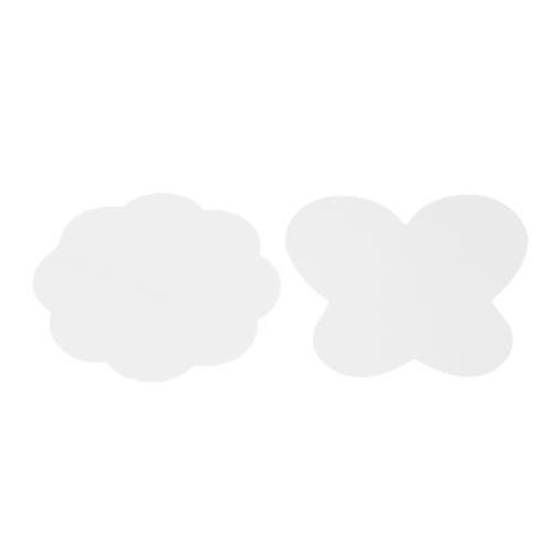 2шт Силиконовая малярная палитра для матов Складная моющаяся бабочка Слива для цветка Пальто для ногтей Штамповка для ногтей Профессиональный маникюр DIY Tools