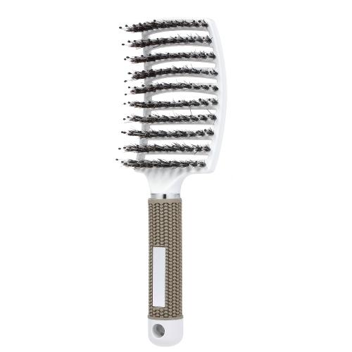 Волосы Scalp массажа расческа нейлоновая расческа женщины мокрая кудрявая расческа волос для салона бытовой парикмахерской инструменты для укладки