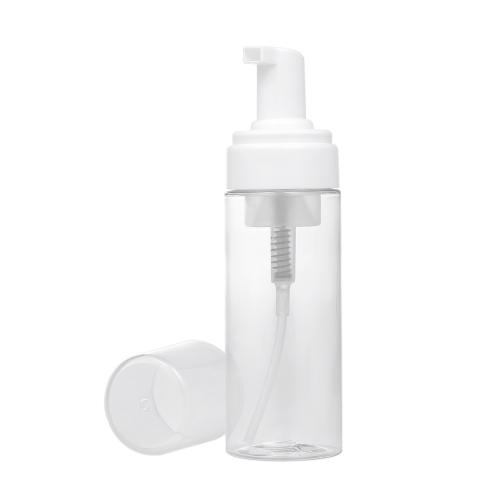 150 ml / 5.29 unzen Foamer Flasche Pumpe Mini Kunststoff Seifenspender für Gesichtsreiniger Creme Shampoon Schönheitspflege Werkzeug Reise Heimgebrauch