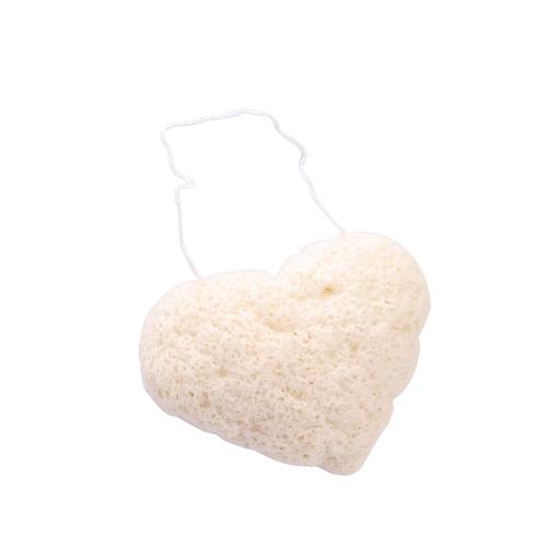 Чистота в форме сердца Чистящая губка для лица Natural Konjak Зрелая кожа