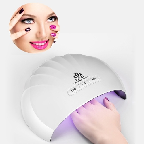 36W LED Nail Lamp Fingernail Toenail Gel Curing Nail Dryer