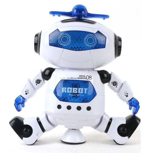 Simpatici regali per bambini Ragazzi elettronici Walking Dancing Smart Space Robot astronauta Kids Music Light Toys SNTRE