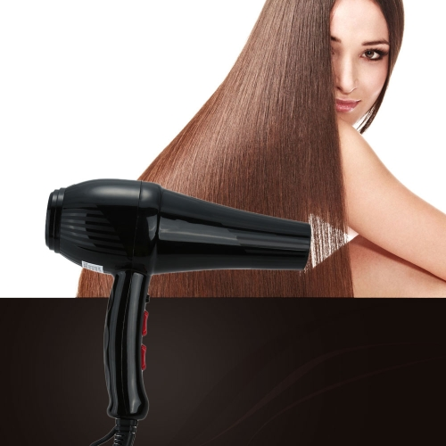Pro Salon Home Use Hair Dryer Hot Cold Wind Heating Cooling Air Electric Blower 2300W 220V Strong Wind Super Silent