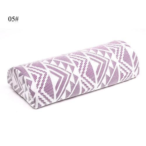 Washable Hand Pillow Cushion Nail Art Holder Soft Arm Rest for Manicure Care