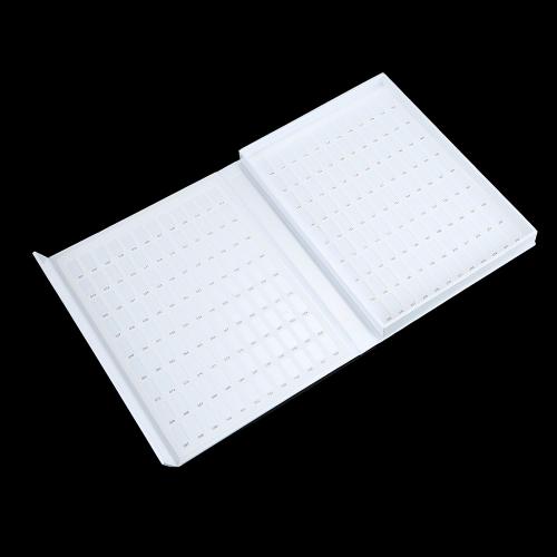 Pro 216 Color Nail Art Display Book Nail Salon Hard Cover Nail Polish Color Chart Book Nail Tech Book