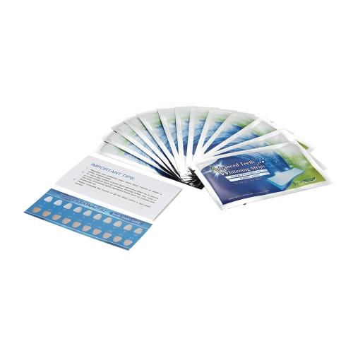 14pcs коробке зубов отбеливание полоски двойной эластичный гель полоски зубов стоматологической отбеливание Стоматологическая инструменты зубов полоски отбеливание зубов продукт