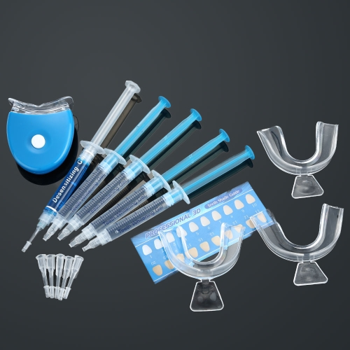 Zahnarztinstrumente Zahnbleichung bleichen Dental System Zahn Whitener Whitening Gel Dental Trays Oral Whitening Home Care Kit Zähne-Tools