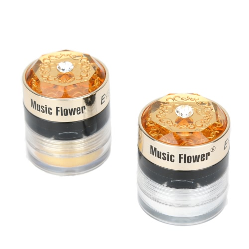 Music Flower Eyeliner Gel & Eye Shadow Powder 2 in 1 24 Hrs