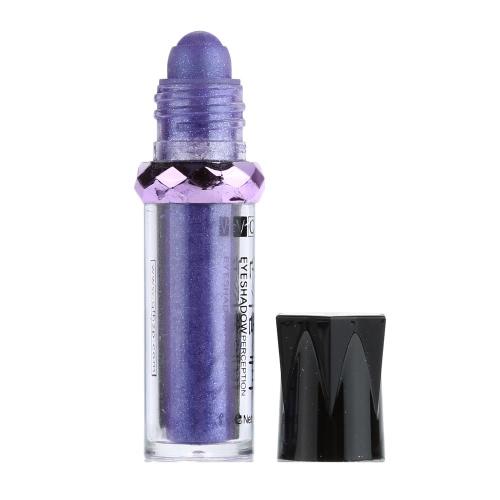 Флуоресцентный сплошной цвет, мерцающие сверкающие порошок Eyeshadow Ultra блестящие водонепроницаемый шелковистой гламурный Eyeshadow порошок натуральный факультативного Multi цвета мяч вечер