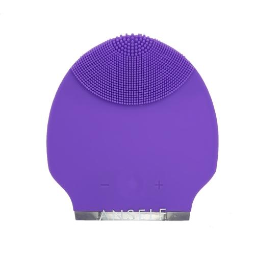 Anself Silikon Wasserdichte Mini Elektrische Gesichtsreinigung Massagebürste Schönheit Instrument