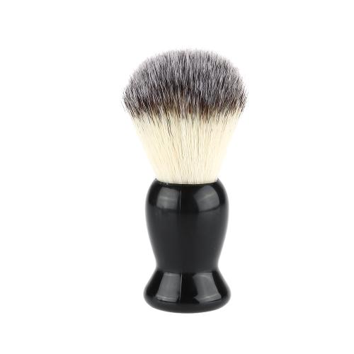 Hervorragende Blaireau Rasierpinsel Bart Reinigung rasieren Pinsel Man Pinsel / Werkzeug-schwarzer Griff Male Reinigung Geräts Gesichtsreinigung