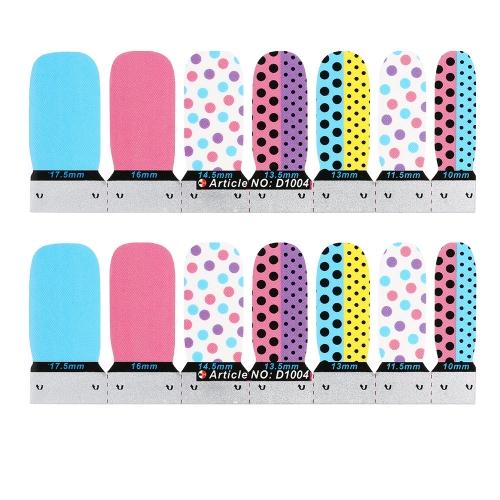 Patch-Decals Nagel Nail Art Sticker French Maniküre schöne Muster schöne Mode Accessoires Dekoration