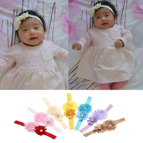7 colores bebé diadema colorido niños