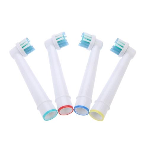 4pcs cabeças de substituição da escova de dentes elétrica apto para Braun Oral B Vitality EB17-4