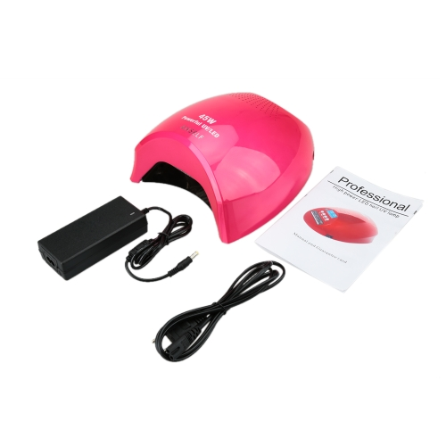 Anself High Power LED Nail UV Lamp 45W Nail Dryer Automatic Induction 3 Timers EU Plug