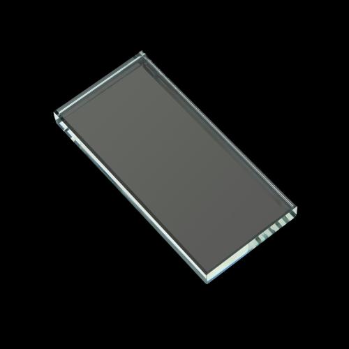 四角形のつけまつげ拡張子クリスタル ガラス石接着ホルダー パレット