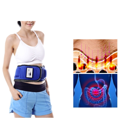 Electric Lose Weight Vibration Waist Massage with X5 Times Lean Fat Burning Slimming Belt