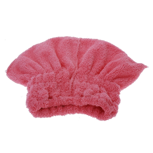 Useful Dry Hair Hat Microfiber Hair Turban Quickly Dry Hair Hat Wrapped Towel Bathing Cap
