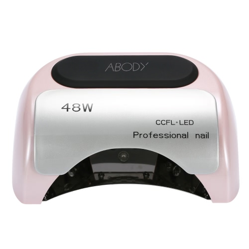 110-220V 48W профессиональный CCFL + LED лампа УФ света салон ногтей сушилка с автоматической индукции таймера