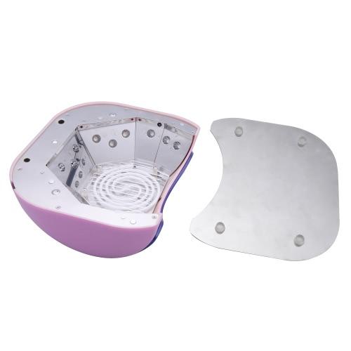 110-220V 48W professionelle KKL + LED UV Lampe Licht Beauty Salon Nagel Trockner mit automatischen Induktion Timer-Einstellung Lila